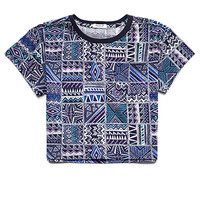 Tribal Print Pocket Tee (Kids)