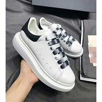 ALEXANDER MCQUEEN Newest Trending Woman Men Casual Sport Shoes Sneakers