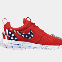 American Flag Roshe Run Red Fourth of July Patriotic