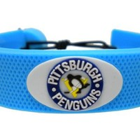 GameWear Pittsburgh Penguins Team Color Hockey Bracelet