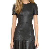 Moore Leather Dress