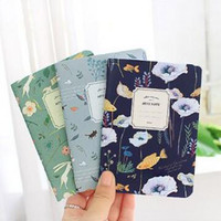 Cute Mini Vintage Flower Notebook Lovely Animal Notepads With Lined Paper For Kids Gifts Korean Stationery Free Shipping 005