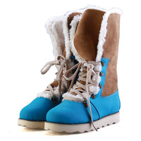 Women Winter Warm Snow Boots