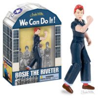 """Rosie The Riveter 5' 1/4"""" Action Figure for Adults or Kids 3+"""