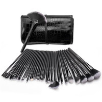 Makeup Brushes, Make Up Brush Set 32 Pieces Cosmetics Brushes Kit with Travel Pouch Gift