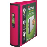 Staples Better 2-Inch D-Ring View Binder, Pink (13570-CC) | Staples