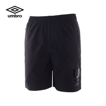 Umbro Men Sportswear Shorts Exercise Pants Breathable Sweat-absorption Quick Dry Football Shorts Team Training Trousers UCC63801