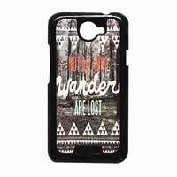 Tolkien Quote Not All Who Wander Are Lost 4fafe9c6-cebb-4b45-889e-12f806c61049 FOR HTC One X CASE *RA*