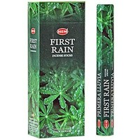 First Rain - Box of Six 20 Stick Tubes - HEM Incense