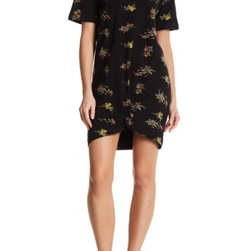 RD Style   Floral Knot Tee Dress   Nordstrom Rack