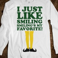 I Just Like Smiling (Elf Long Sleeve)