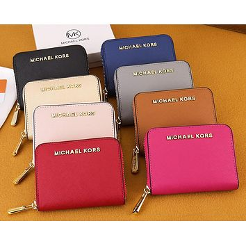 MK New Classic Coin Purse Ladies Small Wallet Fashion Clutch