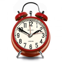 Newgate Small London Alarm Clock - Red
