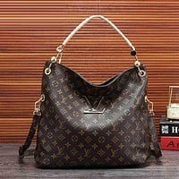 LV Classic Monogram Vintage Women's Tote Shoulder Bag Crossbody Bag