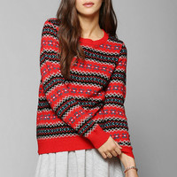 Coincidence & Chance Classic Fair Isle Sweater - Urban Outfitters