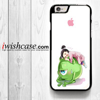 Monster Inc Cute Baby for iPhone 4 4S 5 5S 5C 6 6 Plus , iPod Touch 4 5  , Samsung Galaxy S3 S4 S5 S6 S6 Edge Note 3 Note 4 , and HTC One X M7 M8 Case
