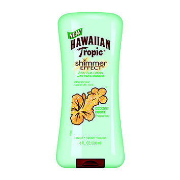 Shimmer Effect Coconut Papaya After Sun Lotion