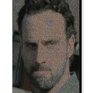 Amazing The Walking Dead Rick Grimes Quotes Mosaic INCREDIBLE