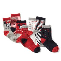 babyGap | Disney Baby Mickey Mouse and Minnie Mouse days-of-the-week socks (7-pack) | Gap