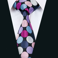 New Arrival  Fashion Men`s Tie Novelty Necktie Silk Jacquard Ties For Men Business Wedding Party