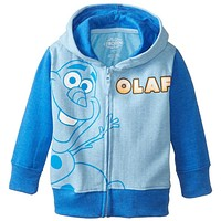 Frozen - Olaf Outline Toddler Zip Hoodie