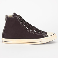 Converse Chuck Taylor All Star Back Zip Hi Mens Shoes Black  In Sizes
