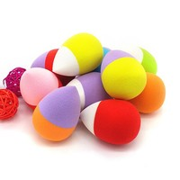 Facial Courd Cotton Sponge Hold Beauty Eggs Water Droplets Shape Makeup Make Up Cosmetic Powder Puff Unique Fragrance Tool
