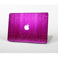 The Abstract Pink Neon Rain Curtain Skin for the Apple MacBook Pro 15""