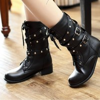 Rivets Martin boots lace BBBBC