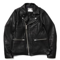 Cow Leather Down Riders Jacket