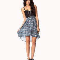 Forget Me Not Combo Dress