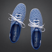 Hollister + Keds Champion Zigzag Print Sneakers