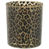 Frosted Leopard Glass Votive Holder | Shop Hobby Lobby
