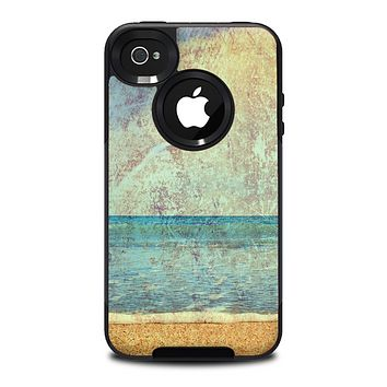 The Vintage Ocean Vintage Surface Skin for the iPhone 4-4s OtterBox Commuter Case