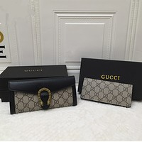 GUCCI By the Pool Monogram Women's Long Wallet Two-piece suit