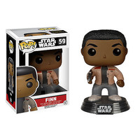 Finn Pop Star Wars Force Awakens Bobble-Head Vinyl Figure