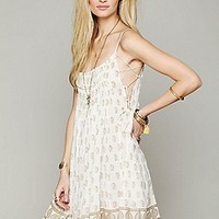 Free People  FP One Imperial Palms Pintuck Dress at Free People Clothing Boutique