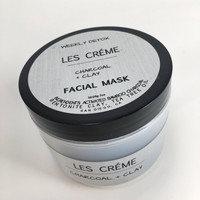 CHARCOAL + CLAY FACE MASK