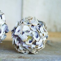 Oyster Shell Sphere