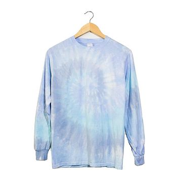 Waterfall Tie-Dye Long Sleeve Unisex Tee