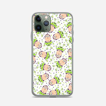 Buzz Toy Story Pattern iPhone 11 Pro Max Case