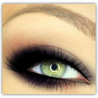 Vegan Mineral Makeup Eye Shadow Handmade -- Midnight