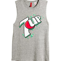 H&M Tank Top with Printed Design $17.95