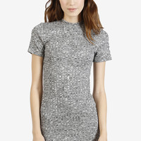 Margot Mock Neck Shift Dress