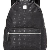 MCM Men's Dieter Monogram Nylon Backpack