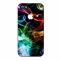 Rainbow Abstract Smoke iPhone 5s Case