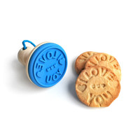 COOKIE STAMP   fun silicone baking accessories message   UncommonGoods