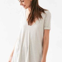 BDG Walk In The Park Striped Tunic Top