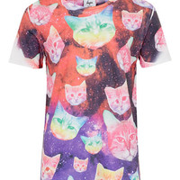HYPE Cosmo Cat T-Shirt* - Men's T-shirts & Tanks - Clothing