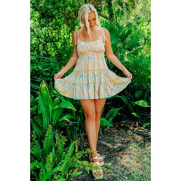 Tropical Thoughts Dress: Multi